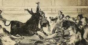 The unlucky death of Pepe Illo in the ring at Madrid