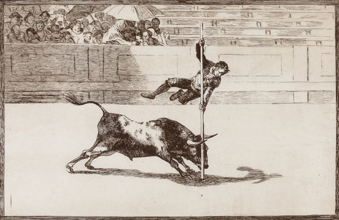 Bullfighting: passion and innovation, Francisco de Goya and Pablo Picasso